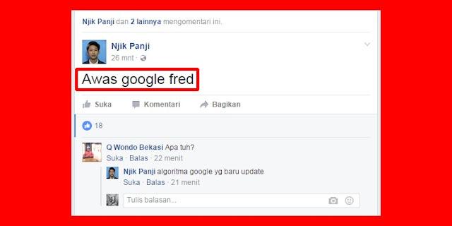 Apa itu Google Fred? Siap-siap Blogger dengan Link 'Palsu' akan Tersingkir dari Pencarian Google