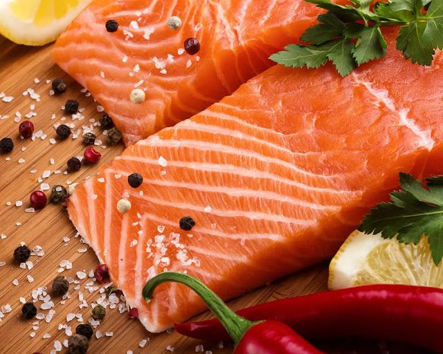 3. Farmed Salmon