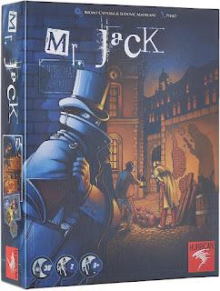 Asmodee Mister Jack el juego de tablero
