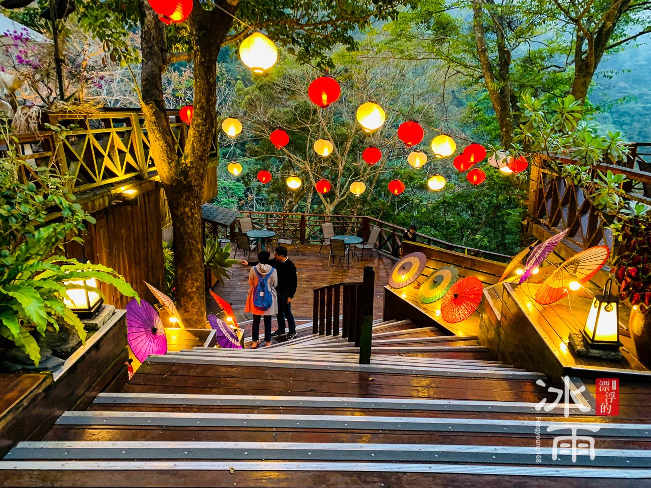 泰安湯悅溫泉會館|斜坡階梯