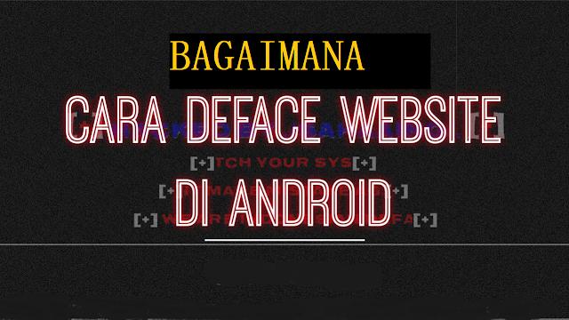 Cara Hack Website dengan Android