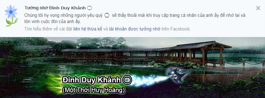 PSD Ảnh Bìa Tưởng Nhớ Facebook