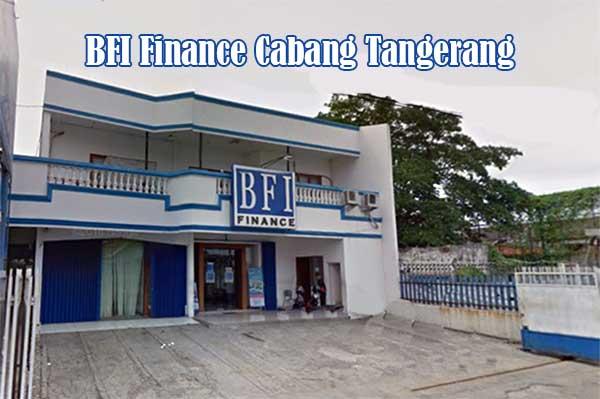 Alamat cabang kantor BFI Tangerang