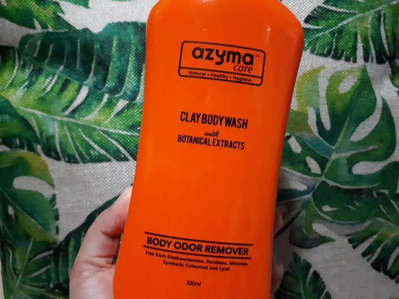 Clay Body Wash By Azyma Care | Atasi Masalah Bau Badan