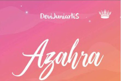 Azahra by DeviJuniartiS Pdf