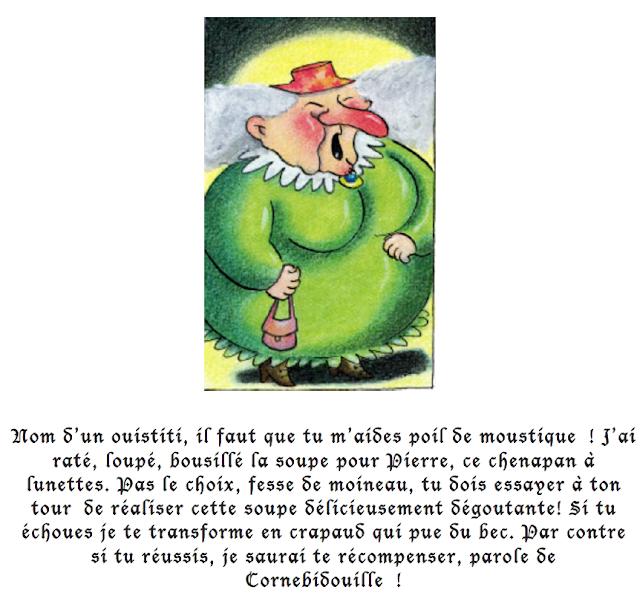 potion magique Cornebidouille