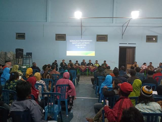Babinsa Koramil 22 Wonosari Suskseskan Program Jambanisasi Diwilayah Desa Binaan