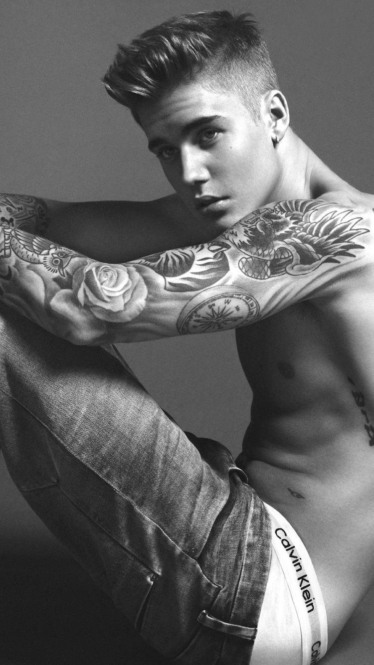 iPhone Wallpapers Justin Bieber Calvin Klein iPhone Wallpapers