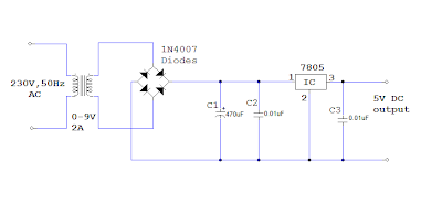 5v dc power supply