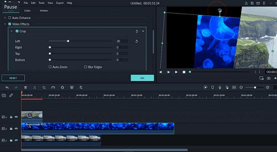 دورة تعلم وشرح filmora9 عمل تأثير تقسيم الشاشة ودمج الفيديو Split Screen in Filmora