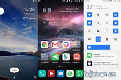 tema xiaomi tembus semua aplikasi mixed futuristic