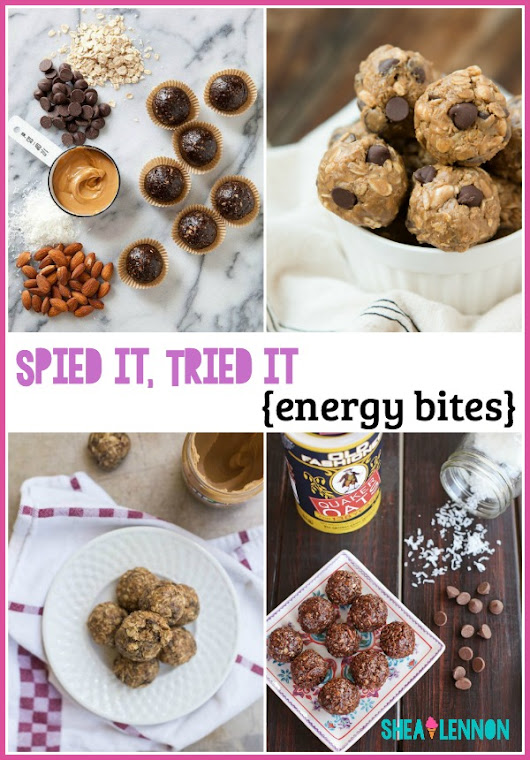 Spied it, Tried it: Chocolate Energy Bites