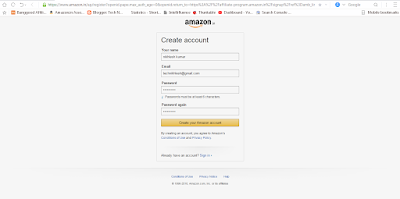 amazon affilate program me account kaise banaye ?