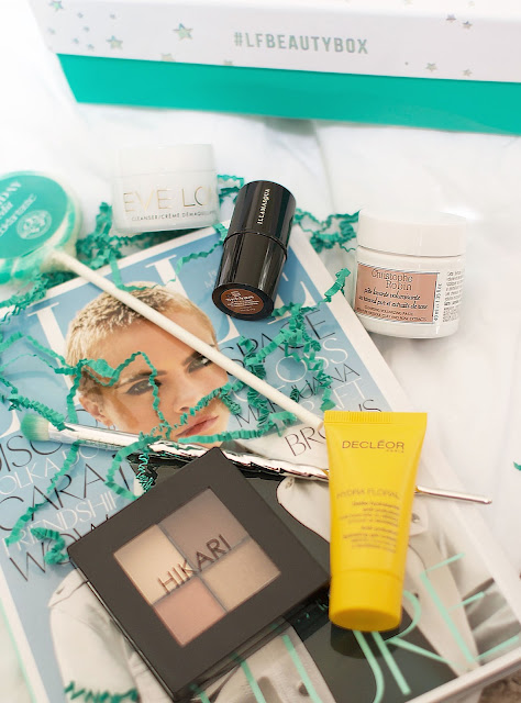 Look Fantastic, Beauty box, Beauty, Bloggers, Hikari palette, Decleor, Christophe Robin, make up