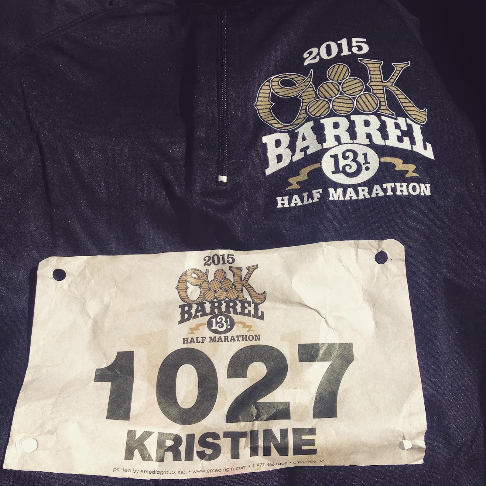 best sneakers 9565e 9bbbf Mylls to go...: Oak Barrel Half Marathon Race Recap