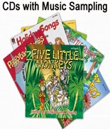 Strictly for kids cd's for daycare and preschool.