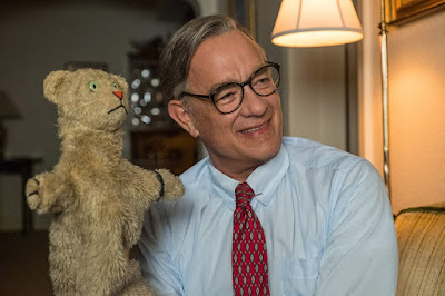 "Tom Hanks stars as icon Fred Rogers in ""A Beautiful Day in the Neighborhood."""
