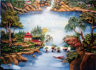 Dekorasi Relief 3D | www.tamanasrisurabaya.com