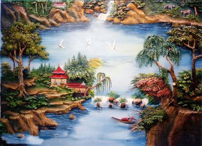 Dekorasi Relief 3D | www.tukangtamansurabaya.co.id 15