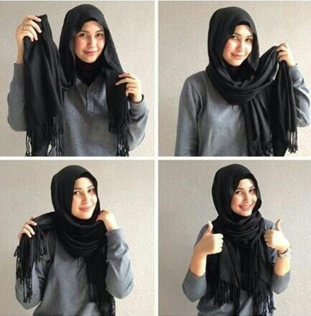 Cara Pakai Selendang Dari Hazanis Love Is Cinta | New Style for 2016 ...