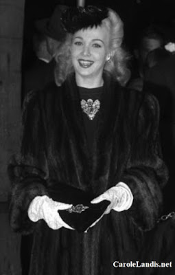 Carole Landis At The 1944 Oscars