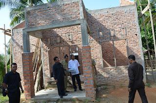 Walikota Langsa Kecewa Pembangunan Rumah Korban Konflik Belum Selesai