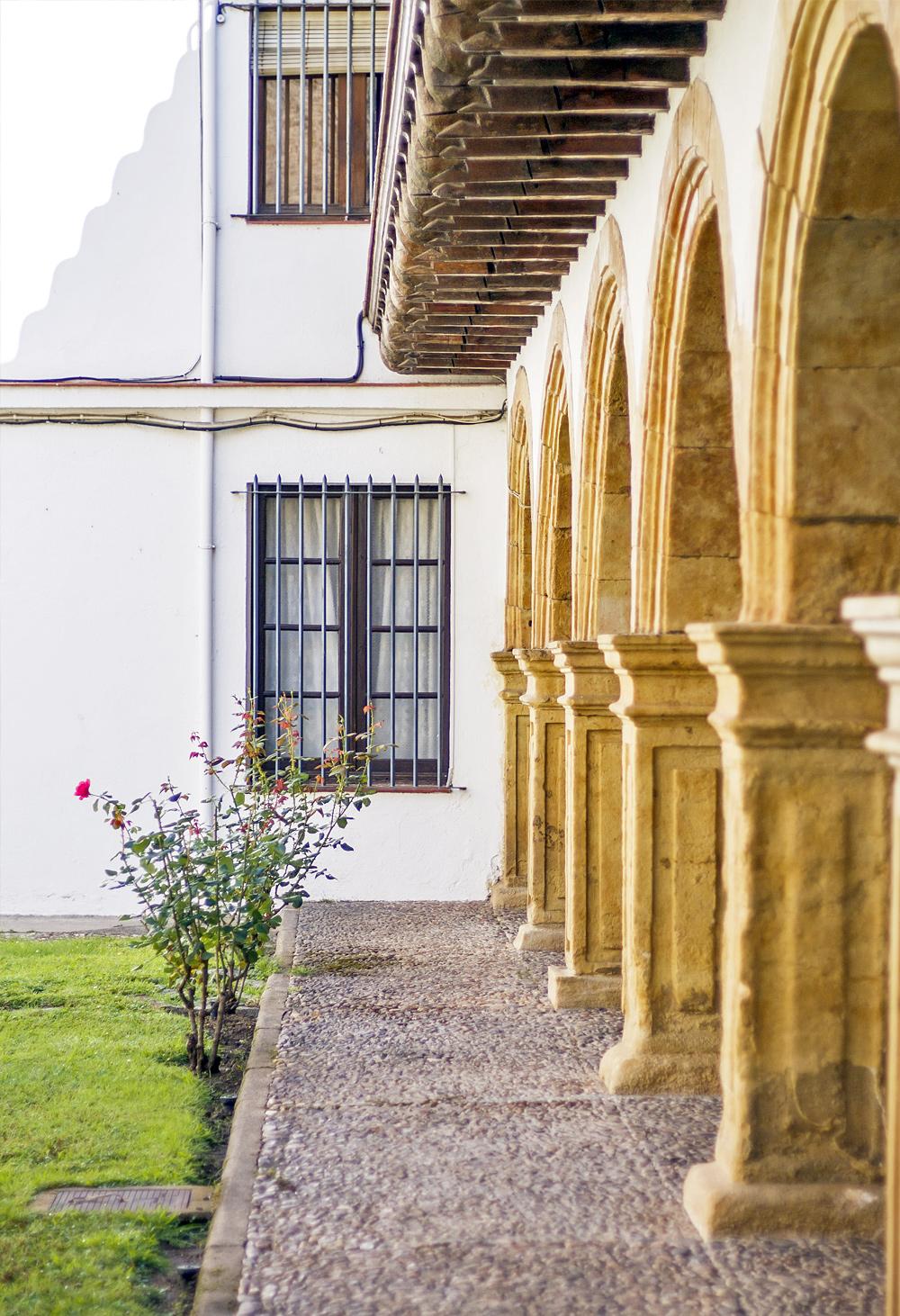 Patio palacio la Salina Salamanca