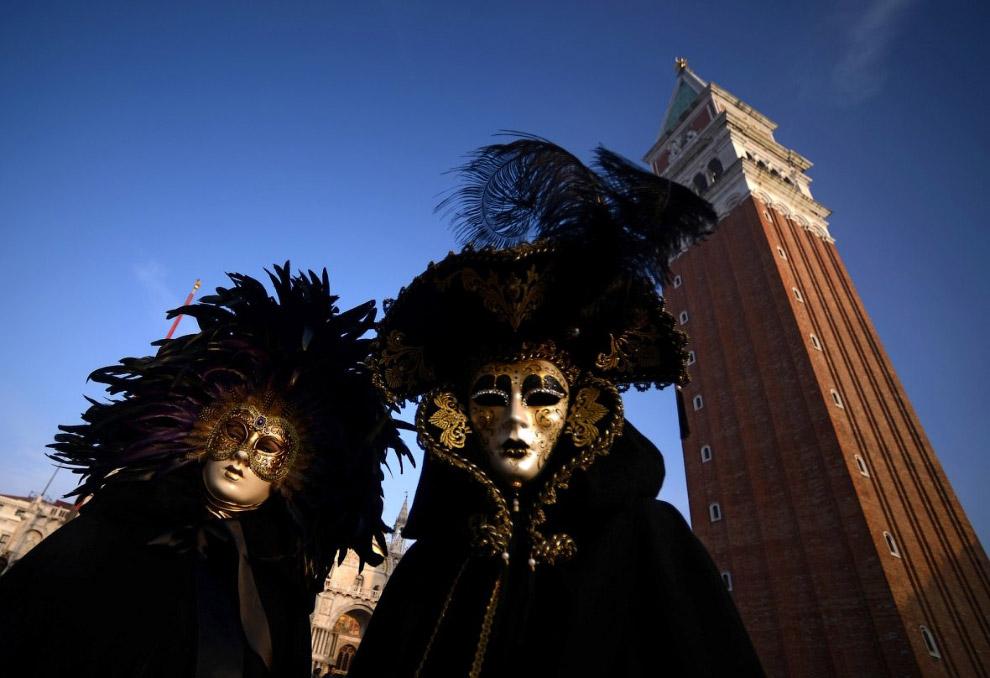 Карнавал в Венеции 2018 года