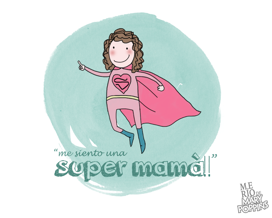 cómo ser una supermamá