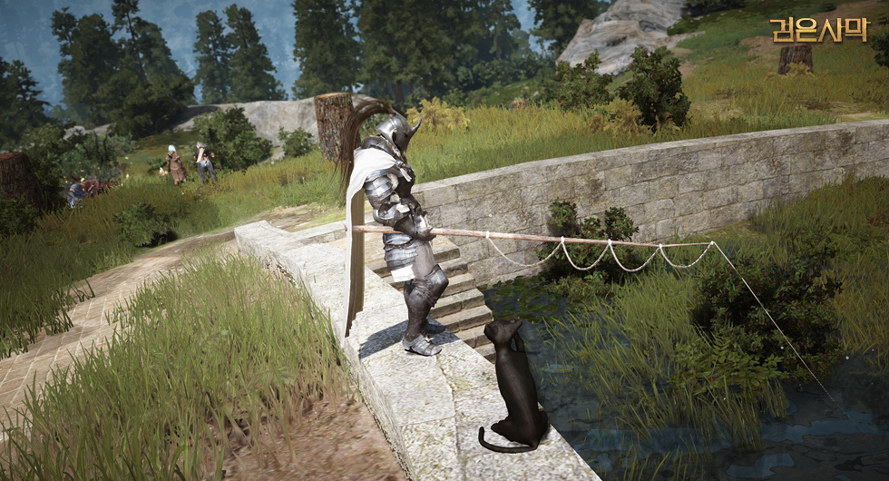 Fishing is one of the classic pursuits in Black Desert.