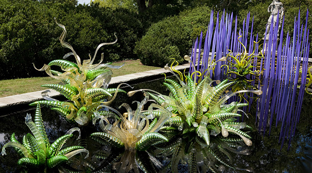 Dale Chihuly's work to be at Biltmore in December 2018.