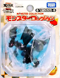 Zekrom figure clear version Takara Tomy Monster Collection 2011 movie promo
