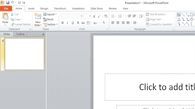 User Interface PowerPoint