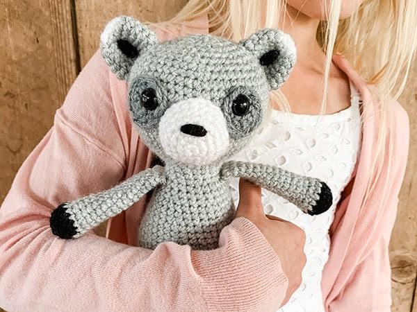 Free Crochet Raccoon Pattern
