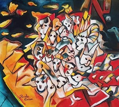 """Arte: è online la mostra pittorica """"Arte e vita"""" dell'artista Daniela Veronese"""