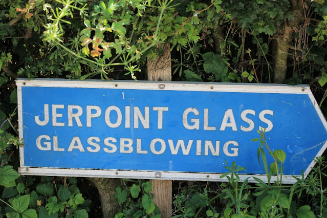Jerpoint Glass Sign
