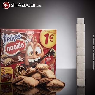 azucar en niños alimentación saludable azucar.org denuncia terrones azúcar productos infantiles