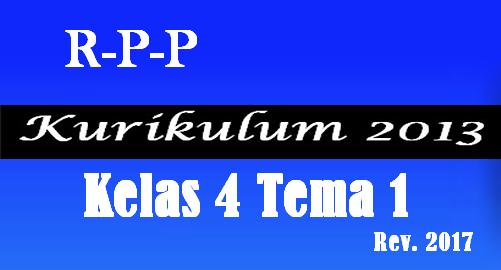 Download RPP K13 Revisi Kelas 4 SD/MI Tema 1