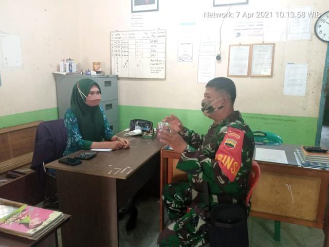 Komunikasi Sosial Dilakukan Personel Jajaran Kodim 0208/Asahan Dengan Perangkat Desa Wilayahnya