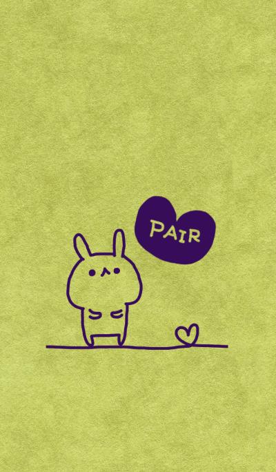 Pair kraftpaper purple (man)