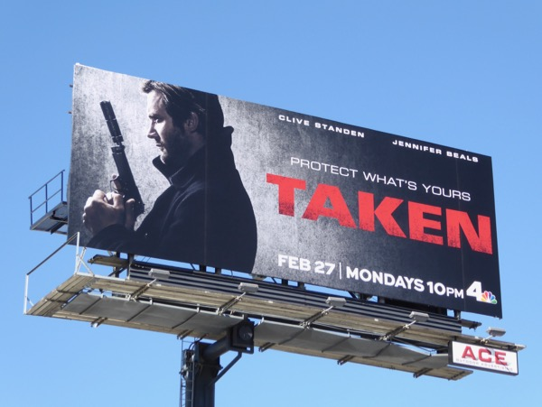Taken series premiere billboard