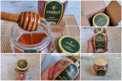 packaging madu saheela
