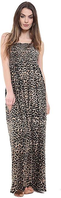 Women's Long Strapless Maxi Dresses