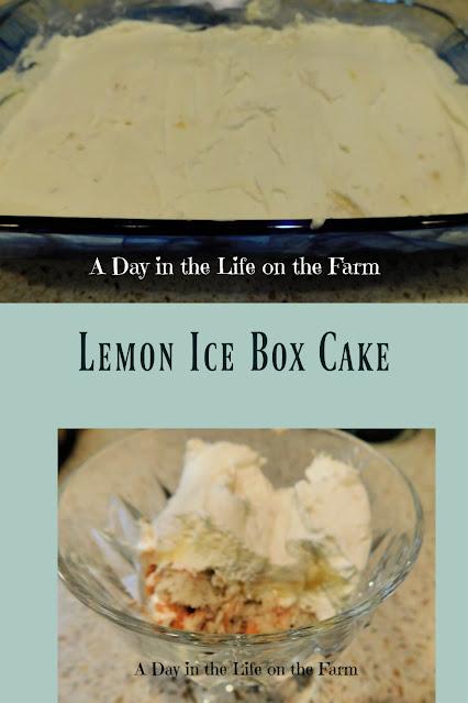 Lemon Ice Box Cake pin