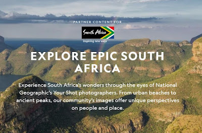 Explore Epic South Africa - Image from the National Geographic / South Africa Tourism Publication