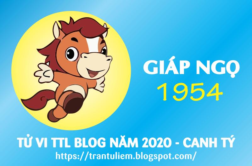 TỬ VI TUỔI GIÁP NGọ 1954 NĂM 2020 ( Canh Tý )