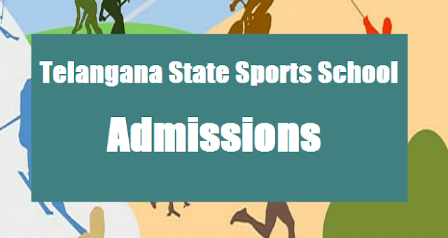 TG State, TS Notifications, TS Admissions, TSSS, Telangana State Sports School, TSSS Admissions, 4th Class Admissions, Selections