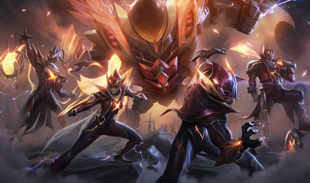 FunPlus Phoenix 2019 Worlds Championship skins Splash Arts