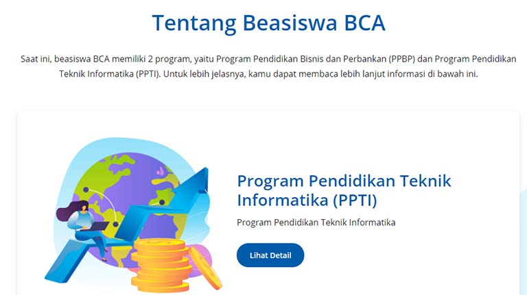 Beasiswa Penuh Kuliah Teknik Informatika & Peluang Kerja Di BCA
