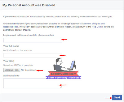 Using Facebook Appeal Fage For Recovering Facebook Disabled Account